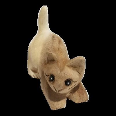 """4"""" Playful Cat (Facing left)"""