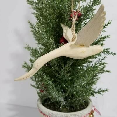 Christmas Ornament Angel Dove