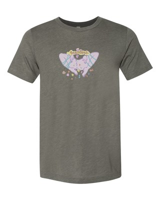T-Shirt - BBIV - Military Green Triblend- Human Chuo - Pussy Original Design
