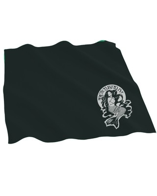 Blindfold/gag/tenugui - (Cotton Bandana​) - BBIV - Black - Human Chuo Original Mermaid Ball Gag Design