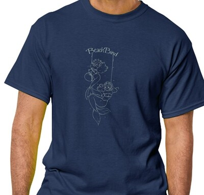 Suspended Mermaids T-Shirt design by designed by Luxje