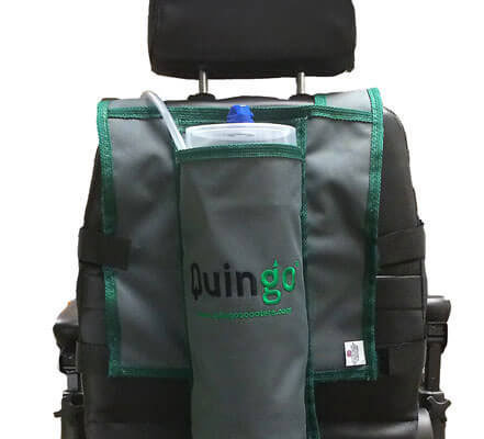 Rear Mounted Oxygen Cylinder Carrying Bag