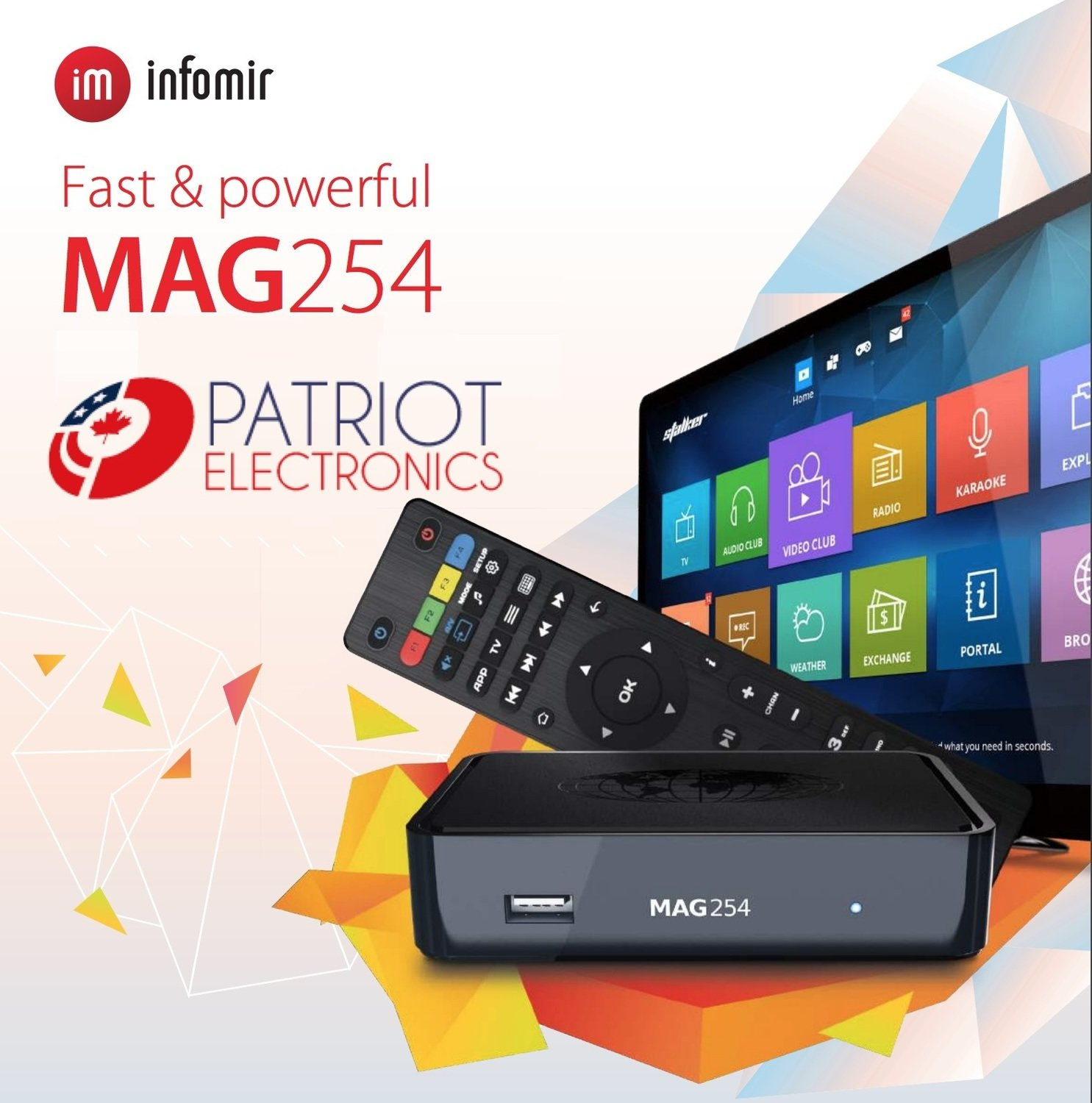 IPTV SET-TOP BOX MAG254