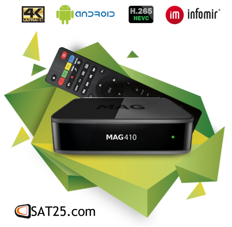 UHD Set-top Box for AndroidTM MAG410