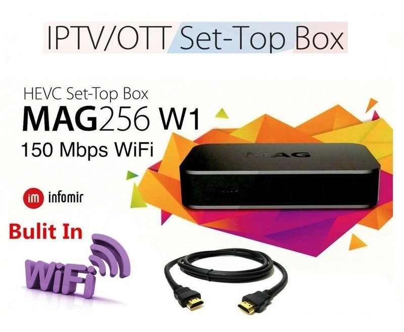 IPTV SET-TOP BOX MAG256 W1