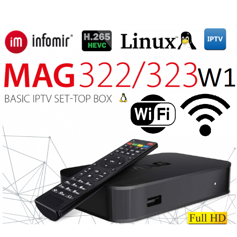 IPTV SET-TOP BOX MAG322 W1