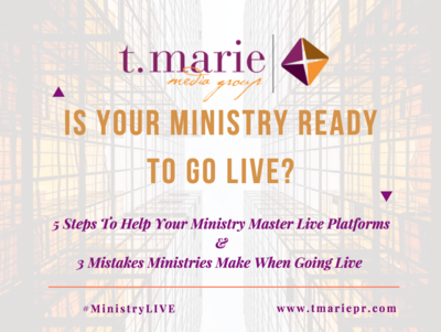 Is Your Ministry Ready To Go LIVE?