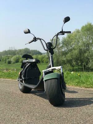 Ecruiser X1 - Matt groen - Outlet   Kmstand: 1422km  OP=OP