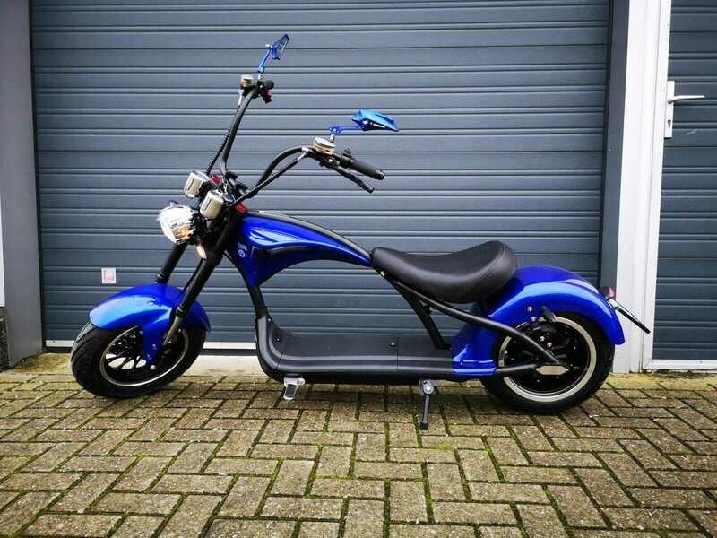 Echopper Metallic Blauw