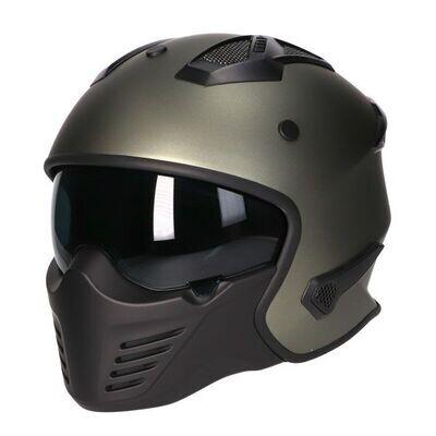 Vito Bruzano helm: Titanium