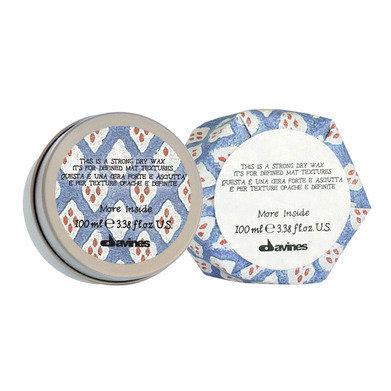Strong Dry Wax / Сухой воск More Inside для текстурных матовых акцент