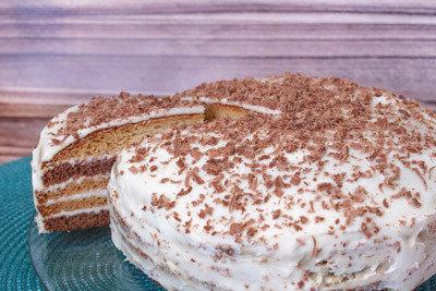 Торт Домашний сметанник