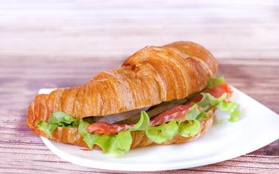 Сэндвич Лосось