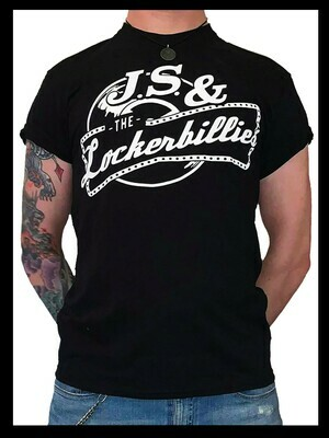 Lockerbillies T Shirt (black)
