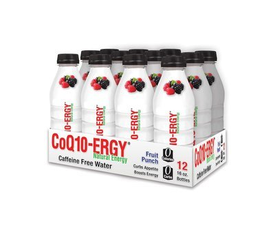 CoQ10-ERGY FRUIT BERRY PUNCH MAX 16 OZ. (12 PACK)