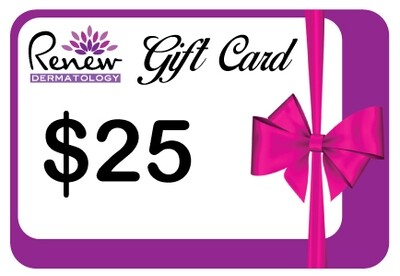 $25 Renew Dermatology Digital Gift Card