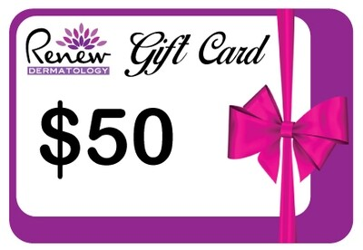 Renew Dermatology - $50 Digital Gift Card