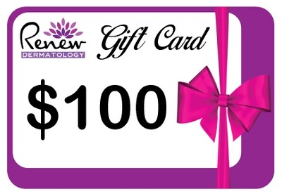 Renew Dermatology Digital Gift Card - $100