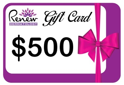 Renew Dermatology Digital Gift Card