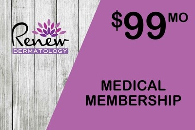 Renew Dermatology Annual Medical Membership