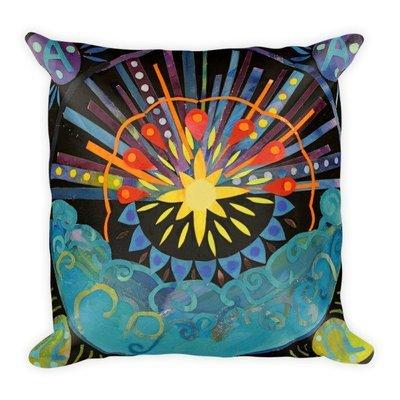 Awakening   Square Pillow