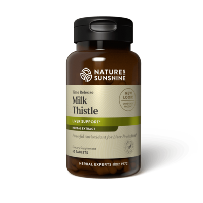 Milk Thistle, Time Release