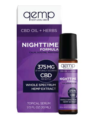 Whole Spectrum Hemp Extract, 375mg Nightime