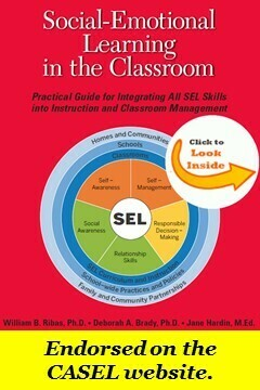 SEL in the Classroom workshop- Four- 3.5 hour modules.  The price includes a copy of the nationally acclaimed and CASEL endorsed book of the same name. Self-paced learning.  Open until June 30, 2021