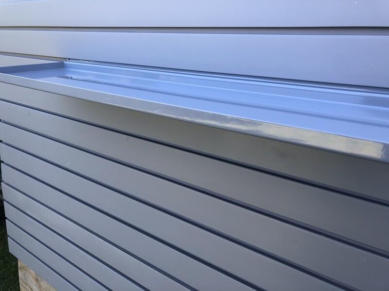 StoreWALL 812mm Metal Ledge Shelf