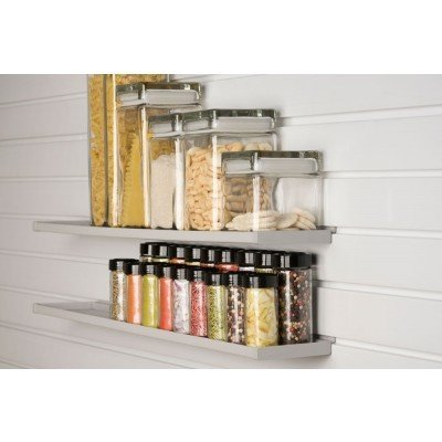 StoreWALL 600mm White Ledge Shelf