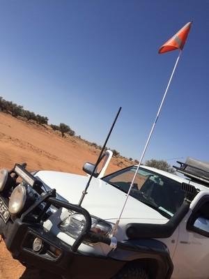 Roadsafe 4WD Safety Sand Flag SB616