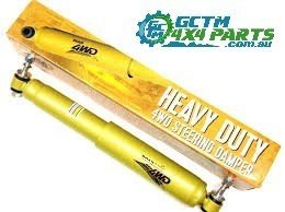 TOYOTA HILUX HEAVY DUTY ROADSAFE FRONT STEERING DAMPER SUIT IFS FRONT / REAR LEAF 9/97 - 03/2005 A3011 LN107-169