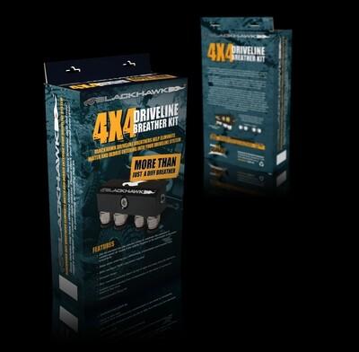 Blackhawk Driveline & Diff Breather Kit