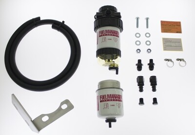 Diesel Pre Filter fuel System Kit To Suit Toyota Landcruiser 100 Series 2000-2007 1HD-FTE FM613DPK