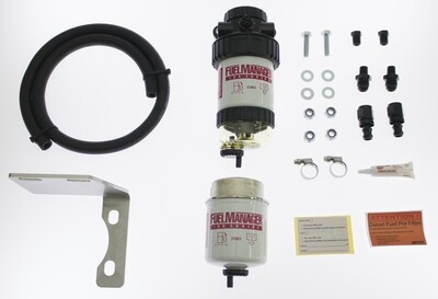 Diesel Pre Filter fuel System Kit To Suit Toyota Landcruiser 70 Series FM615DPK