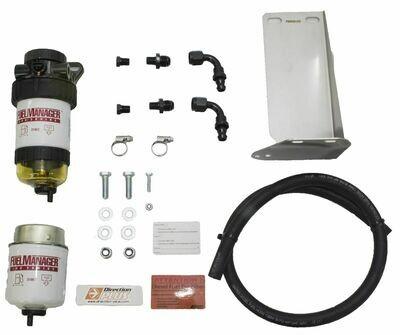 Diesel Pre Filter fuel System Kit Mitsubishi Triton 2.4 ltr 2015-ON MQ Models FM629DPK