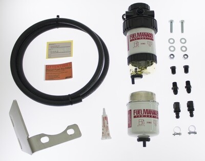 Diesel Pre Filter fuel System Kit To Suit Toyota Prado 120 Series 2003-2009 1KZFE  FM620DPK