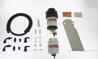 Diesel Pre Filter fuel System And Provent Oil Catch Can Kit Suit Mazda BT50 2006-2015 ford Ranger PX - PX2 2012 on  FMPV621DPK