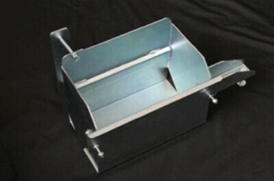 AUXILIARY BATTERY TRAY HOLDEN DMAX/ COLARADO/RODEO2007-2011 - FITS TO THE CHASSIS UNDER THE CAB (DRIVERS SIDE)