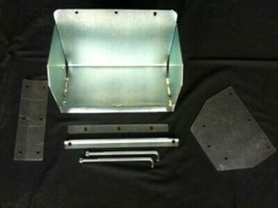 AUXILIARY BATTERY TRAY HOLDEN DMAX/ COLARADO/RODEO 2007-2011 TUB MOUNT