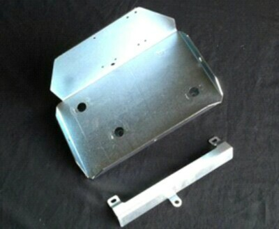 AUXILIARY BATTERY TRAY TOYOTA HILUX KUN26 UP TO 2015