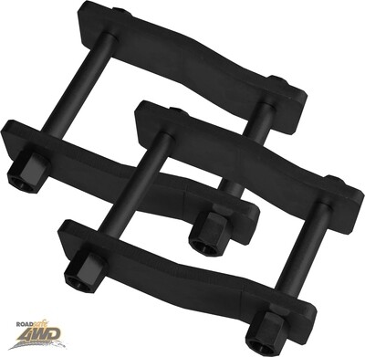ROADSAFE EXTENDED SHACKLES MITSUBISHI TRITON MQ REAR (PIC FOR DISPLAY PURPOSE ONLY)