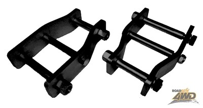 ROADSAFE EXTENDED SHACKLES TOYOTA HILUX SOLID AXLE FRONT