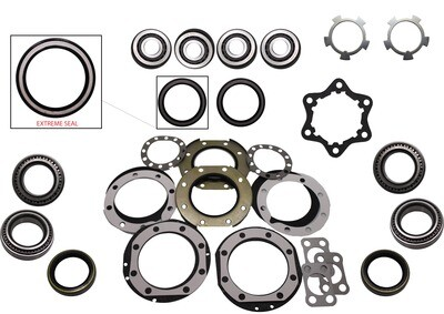 SWIVEL HUB KIT INC. WHEEL BEARINGS TOYOTA LANDCRUISER 40/50/60 SERIES TOYOTA HILUX SOLID AXLE FRONT UP TO 1997