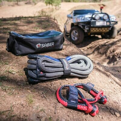 Saber 8K Offroad Kinetic Recovery Kit
