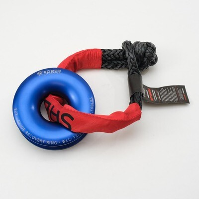 SABER EZY-GLIDE RECOVERY RING NEW + 14.7K SHEATH SOFT SHACKLE KIT