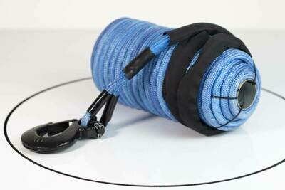 SABER SPECTRA EXTREME DOUBLE BRAIDED WINCH ROPE-30M/100FT(8MM-8K)
