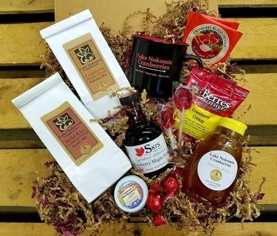 Cranberry Breakfast Gift Box
