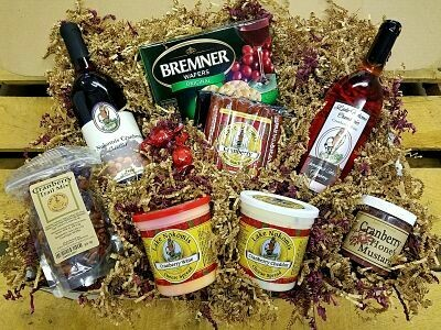 Large Cranberry Lovers Gift Basket
