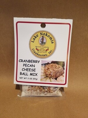 Cranberry Pecan Cheese Ball Mix LNC label